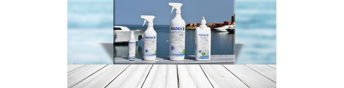 Sanitizers for Hands & Surfaces