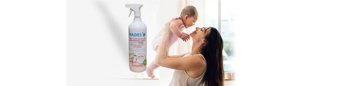 Sanitizers for Babies